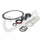 ( D35PBK ) Pinion Bearing Kit for 1987-06 Jeep Wrangler YJ & TJ, 1984-01 Cherokee XJ and 1993-98 Grand Cherokee ZJ with Dana 35 Rear Axle by Crown Automotive