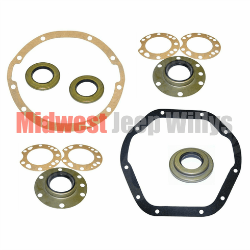 ( D4144SK ) Gasket and Seal Kit Dana 41 and 44 Axle, 1945-1966 Jeep Willys by Preferred Vendor