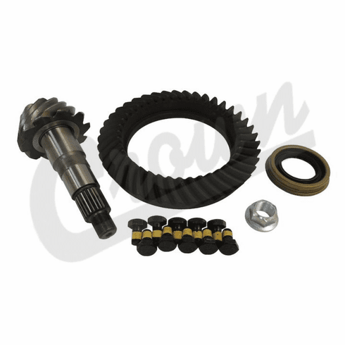 ( D44410JK ) 4.10 Ratio Ring and Pinion Gear Set, fits 2007-18 Jeep Wrangler JK with Dana 44 Rear Axle by Alloy USA