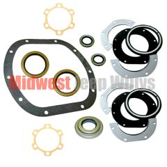 Axle Gasket and Seal Kit, Dana 25 Front Axle, 1941-1965 Willys Jeep