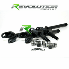 ( DC-D44-JK ) Discovery Series Front Axle Kit for Jeep JK Rubicon D44 Front W/5-7166X U/joints by Revolution Gear