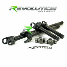 ( DC-D44-Waggy ) Discovery Series D44 4340 Chrome-Moly Front Axle Kit for 1980-1992 Jeep Wagoneer front Dana 44 by Revolution Gear