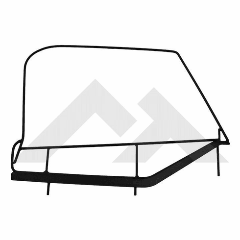 ( DF200TJ ) Upper Door Frame Pair for 1997-06 Jeep Wrangler TJ with Half Doors and Factory Soft Top by RT Off-Road