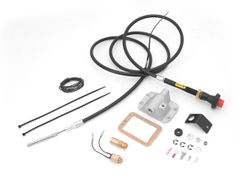 Differential Cable Lock Kit, Alloy USA, With Front D30 Axle, Jeep Wrangler (YJ) 1987-1995, Cherokee (XJ ) 1984-1991