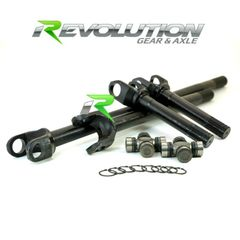 Discovery Series Front  Axle Kit for  TJ, XJ, YJ, & ZJ Dana 30 front W/5-760X U/joints 30 Spline Upgrade (Need Locker)