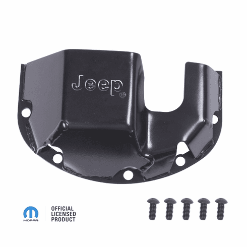 ( DMC-16597.30 ) Differential Skid Plate with Jeep Logo fits Dana 30, Mopar Licenced Part by Omix-Ada