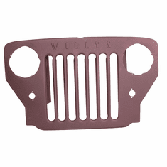 ( DMC-681798 ) Reproduction Grille Assembly, w/ Willys mark, Willys 1953-1964 CJ3B by Omix-Ada