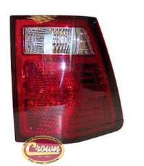 Driver Side Tail Lamp Assembly, fits 2007-10 Jeep Grand Cherokee WK