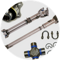 Jeep Willys Driveshaft Parts