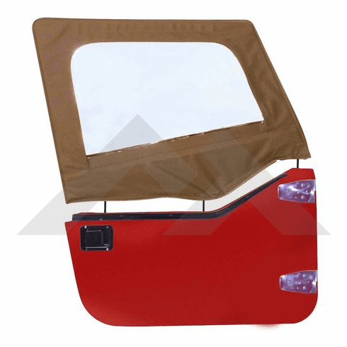 ( DS10037 ) Spice Upper Door Skins for 1987-1995 Jeep Wrangler YJ by RT Off-Road