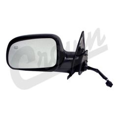 ( 55155233AC ) Driver Side Heated Electric Side View Mirror 1999-02 Jeep Grand Cherokee WJ By Crown Automotive
