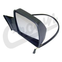 ( 55075432 ) Power Mirror in Black for Passenger Side 1984-96 Jeep Cherokee XJ by Crown Automotive