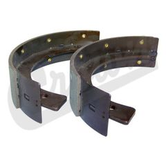 ( 643055 ) Emergency Brake Shoe Set for Transfer Case Mounted Brake, 1945-1971 Jeep & Willys by Crown Automotive