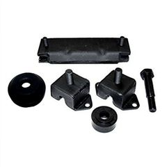 Engine and Transmission Mount Kit, Fits 1941-1971 Jeeps with 4 Cylinder Engine