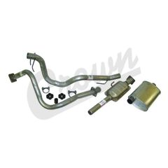 ( 52040278K ) Complete Exhaust Kit for 1987-90 Wrangler YJ with 4.2L Engine by Crown Automotive