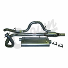 ( 52018933K ) Complete Exhaust Kit for 1997-00 Wrangler TJ with 2.5L Engine by Crown Automotive