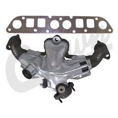 ( 53008860K ) Exhaust Manifold Kit for 1983-02 Jeep CJ, Wrangler YJ, TJ and 1984-00 Cherokee XJ with 2.5L Engine by Crown Automotive