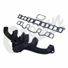 ( 8124999K ) Exhaust Manifold Kit for 1972-1979 Jeep CJ, SJ, Commando with 3.8L 232 or 4.2L 258 Engines By Crown Automotive