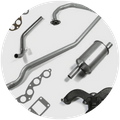 Jeep Willys Exhaust Parts