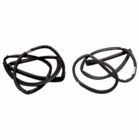 ( KD3012 ) Jeep 1997-2006 Wrangler TJ Door Seal Kit Driver Side & Passenger Side by Fairchild