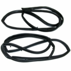 ( KD3006 ) Jeep 1976-1995 CJ7, CJ8, Wrangler YJ Door Seal Kit Driver Side & Passenger Side by Fairchild