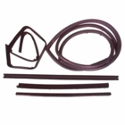 ( KD1011 ) Jeep 1976-1995 CJ7, CJ8, Wrangler YJ Belt Channel Seal Kit Passenger Side by Fairchild
