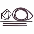 ( KD1010C ) Jeep 1976-1986 CJ7, CJ8 Scrambler Belt Channel Seal Kit Driver Side by Fairchild