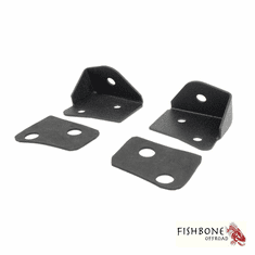 ( FB21015 ) Windshield Light Bracket, Fits 2007 to 2018 JK Wrangler, Rubicon and Unlimited by Fishbone Offroad