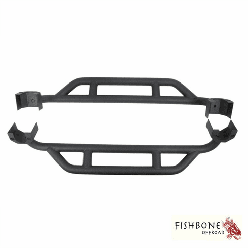 ( FB23008 ) Rock Sliders for 2007 to 2018 2-Door JK Wrangler Unlimited and Rubicon Unlimited by Fishbone Offroad