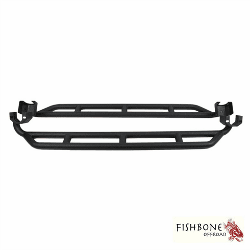 ( FB23009 ) Rock Sliders for 2007 to 2018 4-Door JK Wrangler Unlimited and Rubicon Unlimited by Fishbone Offroad
