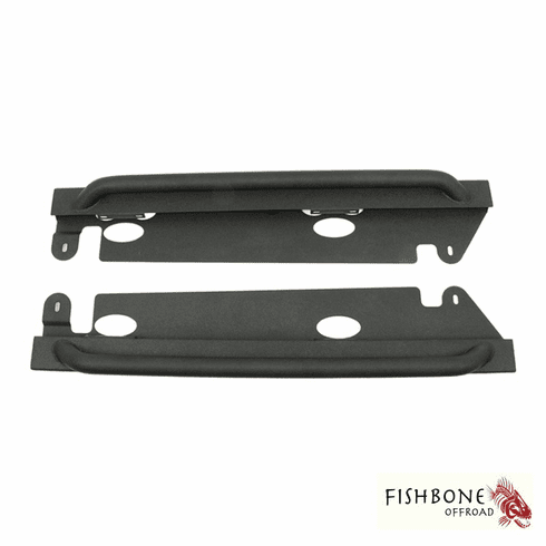 ( FB23010 ) JK Rubicon Rock Sliders, Fits 2-Door 2007-2018 Jeep Wrangler JK and Rubicon by Fishbone Offroad