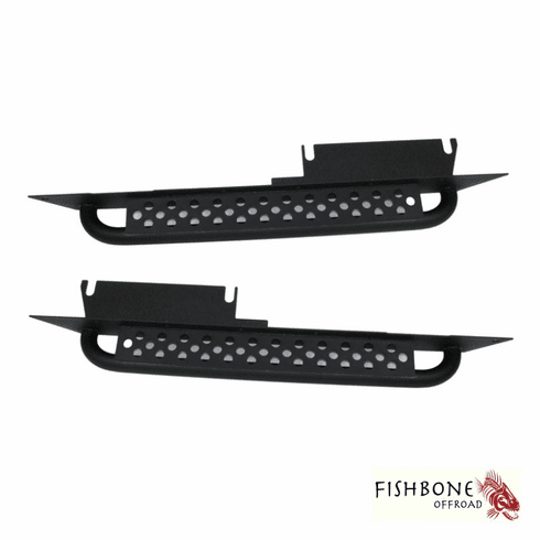 ( FB23028 ) Rock Slider with Tube Step for 1997 to 2006 TJ Wrangler and Rubicon by Fishbone Offroad