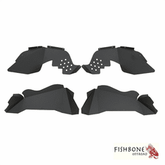 ( FB33007 ) Aluminum Inner Fenders for 2007 to 2018 JK Wrangler, Rubicon and Unlimited by Fishbone Offroad