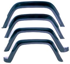 4-Piece Fender Flare Kit, 84-96 Jeep Cherokee by Rugged Ridge