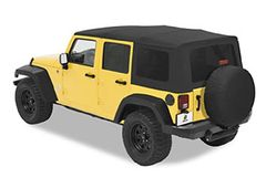 Fender Flare Kit, Bestop Highrock, Jeep Wrangler JK 2007-11, 2-Door or 4-Door