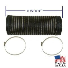Fresh Air Hose for Air Box, fits 1972-1986 CJ5, CJ5, CJ7 & CJ8