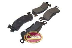 ( 83504371 ) Front Disc Brake Pad Set, 1974-91 Jeep SJ & J-Series by Crown Automotive