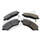 ( 68003701AA ) Front Disc Brake Pad Set for 2007-18 Jeep Wrangler JK, Unlimited JK & 2008-11 Liberty KK By Crown Automotive