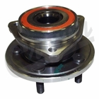 ( 53007449AC ) Front Hub Assembly, 1999-06 Jeep Wrangler TJ, 1999-01 Cherokee XJ By Crown Automotive