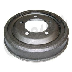 """( J0999728 ) Front or Rear Unfinned Brake Drum for 1972-74 Jeep CJ with 11"""" x 2"""" Brakes    by Crown Automotive"""