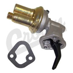( J3240172 ) Fuel Pump for 1987-1990 Jeep Wrangler YJ with 4.2L Engine, Front Inlet Fitting By Crown Automotive