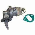 Fuel Pump with Glass Fuel Bowl, Fits 1941-1971 Jeep & Willys w/ 4-134 L-Head or 4-134 F-Head Engine
