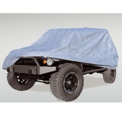 Full Car Cover, 04-17 Jeep Wrangler Unlimited by Rugged Ridge