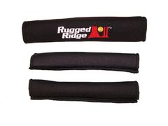 Neoprene Door and Grab Handle Covers, Black, 97-06 Jeep Wrangler by Rugged Ridge