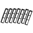 ( 1130603 ) Grille Inserts, Black, 97-06 Jeep Wrangler by Rugged Ridge