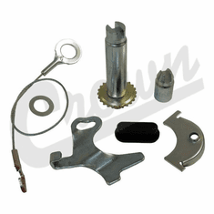 """( H2540 ) Drivers Side Self Adjusting Hardware Kit, Front or Rear Brakes, Fits 1972-78 Jeep CJ with 11"""" Brakes by Crown Automotive"""
