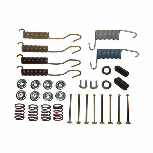 """( H7137 ) Drum Brake Hardware Kit, for Driver or Passenger Sides, Fits 1972-78 Jeep CJ with 11"""" Brakes. Each    by Omix-Ada"""