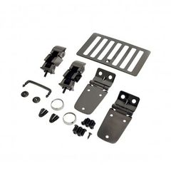 Hood Kit, Black Chrome, 98-06 Jeep Wrangler by Rugged Ridge