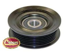 Idler Pulley, fits 2007-11 Jeep Wrangler JK & Wrangler Unlimited JK with 3.8L Engine without A/C
