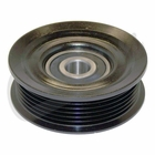 ( 53034002AA ) Idler Pulley, fits 2007-11 Jeep Wrangler JK & Wrangler Unlimited JK with 3.8L Engine without A/C By Crown Automotive